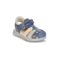 Sandały Dziecko  Kickers  PLATINIUM. Niebieskie sandały chłopięce Kickers. Za 231,20 zł.