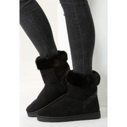 Czarne Śniegowce Whole World. Czarne buty zimowe damskie vices. Za 99,99 zł.