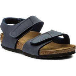 Sandały BIRKENSTOCK - Bari Kinder 222563 Navy. Niebieskie sandały męskie skórzane marki Birkenstock. W wyprzedaży za 139,00 zł.