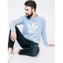 Adidas Originals - Bluza. Szare bejsbolówki męskie adidas Originals, m, z nadrukiem, z bawełny, bez kaptura. W wyprzedaży za 199,90 zł.