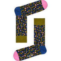Skarpety Happy Socks x Wiz Khalifa (WIZ01-1000). Szare skarpetki męskie Happy Socks, z bawełny. Za 47,99 zł.