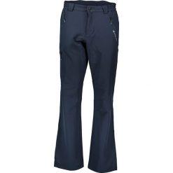 """Joggery męskie: Spodnie softshellowe """"Way"""" w kolorze granatowym"""