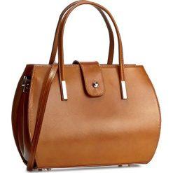 Torebka CREOLE - RBI10157 Koniak. Brązowe torebki klasyczne damskie Creole, ze skóry. W wyprzedaży za 269,00 zł.