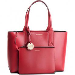 Torebka EMPORIO ARMANI - Y3D081 YH15A 88158 Red/Black. Czerwone torebki klasyczne damskie Emporio Armani, ze skóry ekologicznej. Za 689,00 zł.