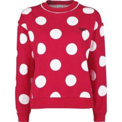 Odzież damska: Vans Disney Minnie Boxy Bluza damska czerwony
