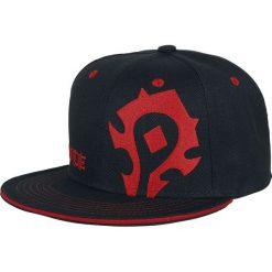 Warcraft The Horde Czapka Snapback czarny. Czarne czapki z daszkiem damskie Warcraft, z tworzywa sztucznego. Za 99,90 zł.