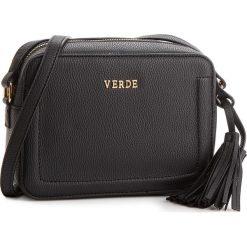 Torebka VERDE - 16-0004544 Czarny. Czarne torebki klasyczne damskie Verde. Za 109,00 zł.