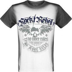 T-shirty męskie: Rock Rebel by EMP Rebel Soul T-Shirt czarny/biały