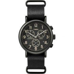 Zegarek Timex Męski  TW2P62200 Weekender Chrono czarny. Czarne zegarki męskie Timex. Za 488,49 zł.