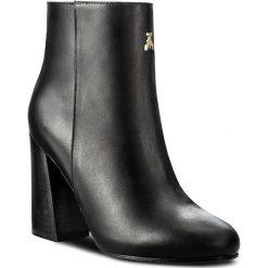 Botki PATRIZIA PEPE - 2V7369/A483-K103 Nero. Czarne buty zimowe damskie marki Patrizia Pepe, ze skóry. W wyprzedaży za 709,00 zł.