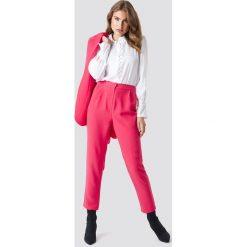 Spodnie damskie: Trendyol Spodnie Tofa - Pink