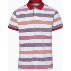 Nils Sundström - Męska koszulka polo, czerwony. Czerwone koszulki polo Nils Sundström, m, w paski. Za 49,95 zł.