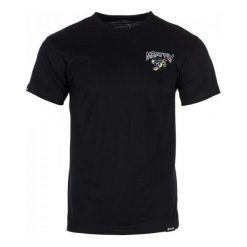 T-shirty męskie: Meatfly T-Shirt Męski Dragon Fist L Czarny