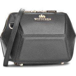 Torebka WITTCHEN - 85-4E-427-1 Czarny. Czarne torebki klasyczne damskie Wittchen. W wyprzedaży za 259,00 zł.