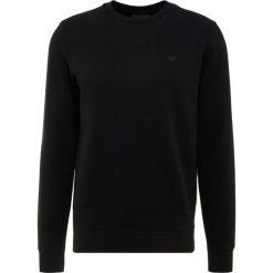 Emporio Armani FELPA Bluza nero. Szare bluzy męskie marki Emporio Armani, l, z bawełny, z kapturem. Za 589,00 zł.