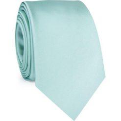 Miętowy krawat KWZR001294. Zielone krawaty męskie Giacomo Conti, z mikrofibry. Za 69,00 zł.