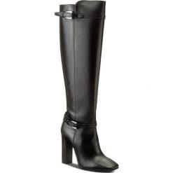 Kozaki GINO ROSSI - Ann DKG564-L44-3V00-9900-F 99. Czarne buty zimowe damskie marki Gino Rossi, z materiału, na obcasie. W wyprzedaży za 409,00 zł.