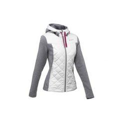 Sweter NH500 Hybrid damski. Szare swetry klasyczne damskie QUECHUA, m. Za 99,99 zł.