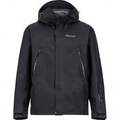"""Kurtka narciarska """"Spire"""" w kolorze czarnym. Czarne kurtki narciarskie męskie marki Marmot, m, z materiału. W wyprzedaży za 955,95 zł."""