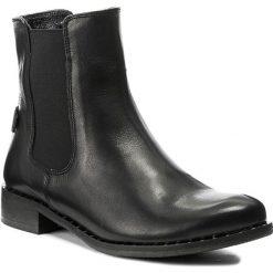 Sztyblety KARINO - 2250/076-P Czarny. Fioletowe buty zimowe damskie marki Karino, ze skóry. W wyprzedaży za 239,00 zł.