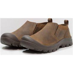 Keen GRAYSON SLIPON Obuwie do biegania Turystyka mid brown/scylum. Brązowe buty sportowe męskie marki Keen, z materiału, do biegania. Za 399,00 zł.