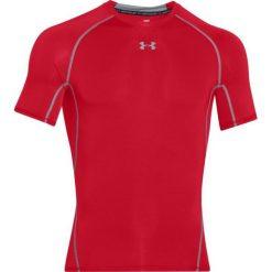 Odzież termoaktywna męska: Under Armour Koszulka termoaktywna HeatGear Compression Shortsleeve M czerwona r. XL (1257468-600)