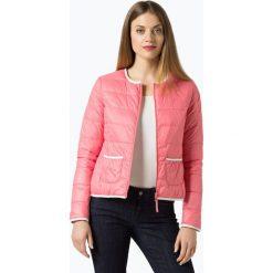 Bomberki damskie: Marie Lund - Damska dwustronna kurtka puchowa, różowy