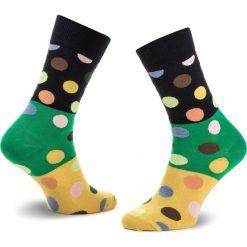Skarpety Wysokie Unisex HAPPY SOCKS - BDB01-6000 Kolorowy. Brązowe skarpetki męskie Happy Socks, w kolorowe wzory, z bawełny. Za 34,90 zł.
