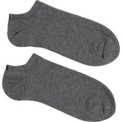 Tommy Hilfiger - Skarpety Sneaker(2-pak). Szare skarpetki męskie TOMMY HILFIGER, z bawełny. Za 35,90 zł.