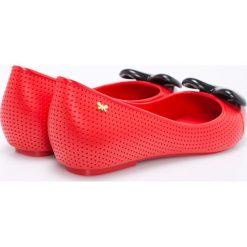 Zaxy - Baleriny. Czerwone baleriny damskie Zaxy, z materiału. W wyprzedaży za 119,90 zł.