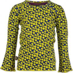 """Bluzka """"Balls Out"""" w kolorze granatowo-żółtym. Żółte bluzki dziewczęce 4FunkyFlavours Kids, z okrągłym kołnierzem. W wyprzedaży za 82,95 zł."""
