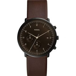 Fossil - Zegarek FS5485. Różowe zegarki męskie marki Fossil, szklane. Za 699,90 zł.