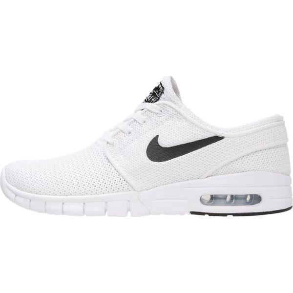 Chłodny Nike SB STEFAN JANOSKI MAX Tenisówki i Trampki white/black - Białe WJ34