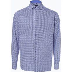 Eterna Modern Fit - Koszula męska łatwa w prasowaniu, niebieski. Niebieskie koszule męskie na spinki marki Eterna Modern Fit, m, z klasycznym kołnierzykiem. Za 249,95 zł.
