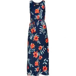 Sukienki: Sukienka bonprix ciemnoniebieski z nadrukiem