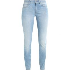 GStar GSTAR SHAPE HIGH SUPER SKINNY  Jeans Skinny Fit legend ultimate stretch denim. Niebieskie jeansy damskie G-Star, z bawełny. Za 659,00 zł.
