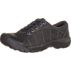 Keen PRESIDIO Obuwie hikingowe black/magnet. Czarne buty sportowe damskie Keen, z materiału, outdoorowe. W wyprzedaży za 300,30 zł.