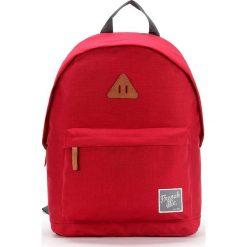 Plecaki męskie: Plecak w kolorze czerwonym – 29 x 40 x 14 cm