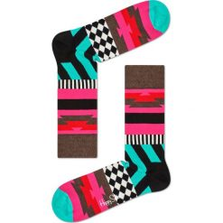 Happy Socks - Skarpety Mix Max. Czarne skarpetki męskie marki Happy Socks, z bawełny. W wyprzedaży za 29,90 zł.