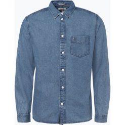 Tommy Jeans - Koszula męska – Relaxed Fit, niebieski. Niebieskie koszule męskie jeansowe marki Tommy Jeans, l. Za 279,95 zł.