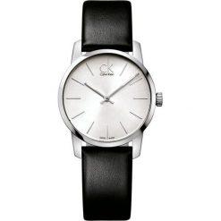 ZEGAREK CALVIN KLEIN CITY LADY K2G231C6. Szare zegarki damskie marki Calvin Klein, szklane. Za 739,00 zł.