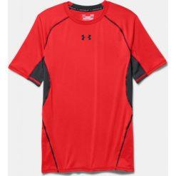 Under Armour Koszulka termoaktywna  HeatGear® Compression Shortsleeve M czerwono-czarna r. S (1257468-984). Szare t-shirty męskie marki Under Armour, l, z dzianiny, z kapturem. Za 79,99 zł.