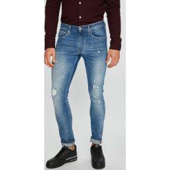 Lee - Jeansy Luke. Niebieskie jeansy męskie slim marki Lee. Za 329,90 zł.