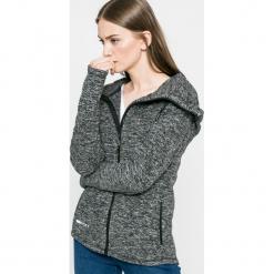 Roxy - Bluza. Szare bluzy rozpinane damskie Roxy, m, z materiału, z kapturem. W wyprzedaży za 179,90 zł.