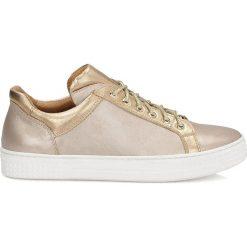 Buty sportowe damskie: Złote buty sportowe