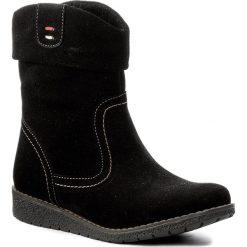 Botki LASOCKI - WI23-CREMONA-04 Czarny. Czarne buty zimowe damskie Lasocki, z materiału. W wyprzedaży za 100,00 zł.