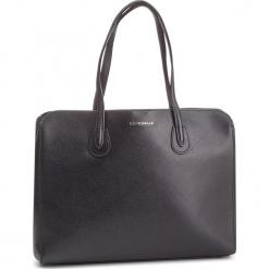 Torebka COCCINELLE - DQ0 Lulin E1 DQ0 11 01 01 Noir 001. Czarne torebki klasyczne damskie marki Coccinelle, ze skóry. Za 1149,90 zł.