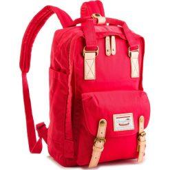 Plecak DOUGHNUT -  D010-0095-F  Macaroon/Rasberry. Czerwone plecaki męskie Doughnut, z materiału. W wyprzedaży za 259,00 zł.