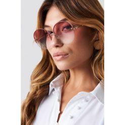 Le Specs Okulary przeciwsłoneczne Say My Name - Pink. Różowe okulary przeciwsłoneczne damskie aviatory Le Specs. Za 283,95 zł.