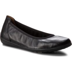 Baleriny CAPRICE - 9-22100-21 Black Nappa 022. Czarne baleriny damskie marki Caprice, z materiału. W wyprzedaży za 179,00 zł.